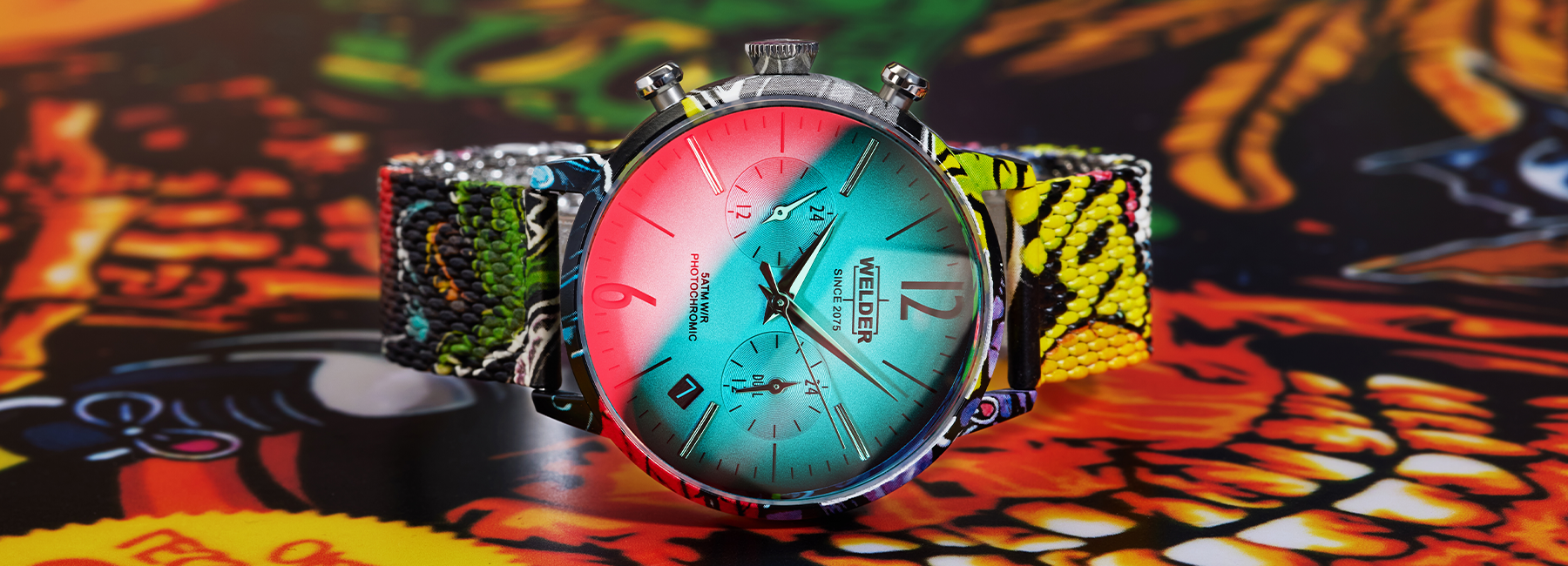Our Colors Combined with the Colors of the Streets: Welder Graffiti Collection