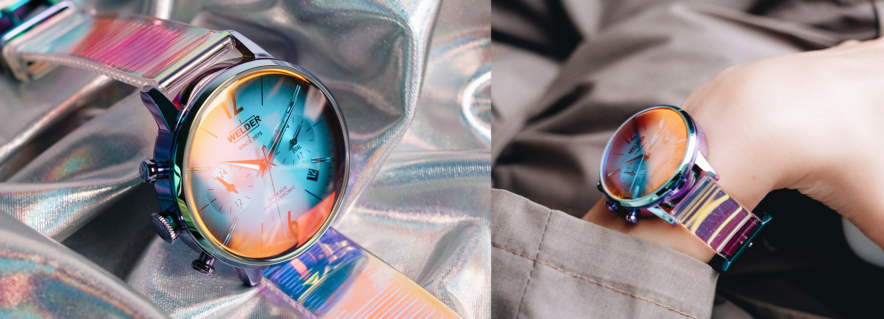 The Power of the Future is on the Wrist with Welder Moody Hologram