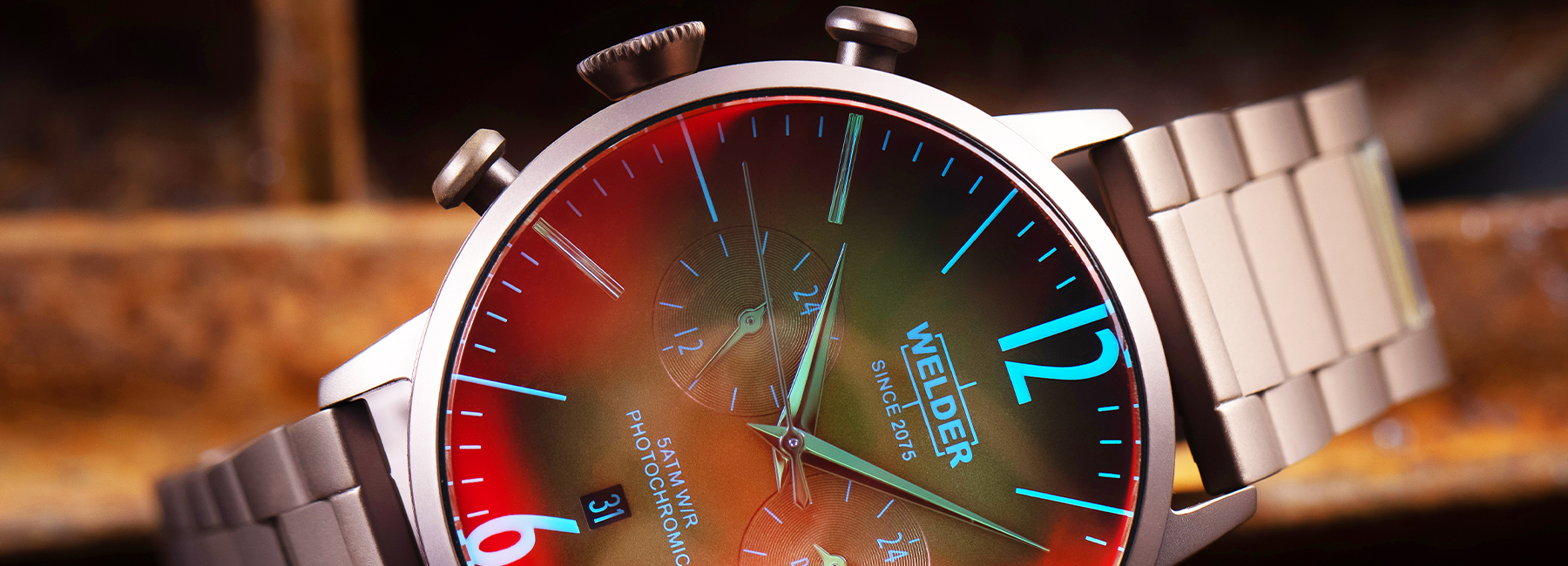 Time to Embrace Change with Your Welder Watch