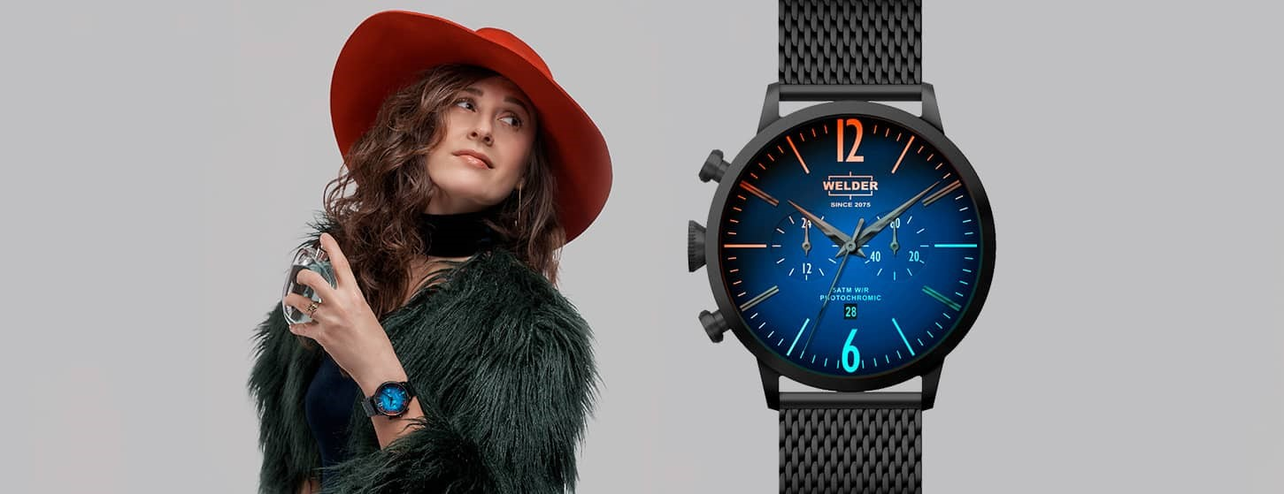 Welder Moody watches are with you with its colourful world!